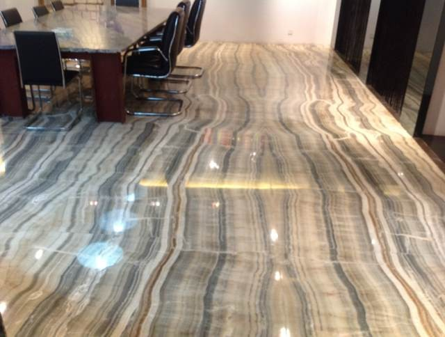 Natural Stone Grey Onyx Slab for flooring