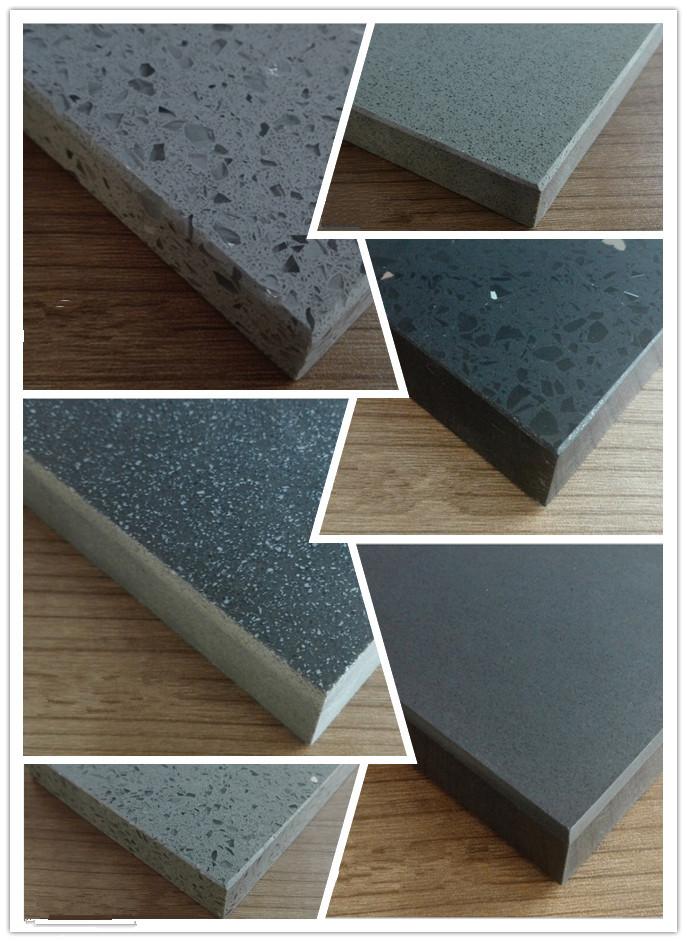 Grey quartz stone