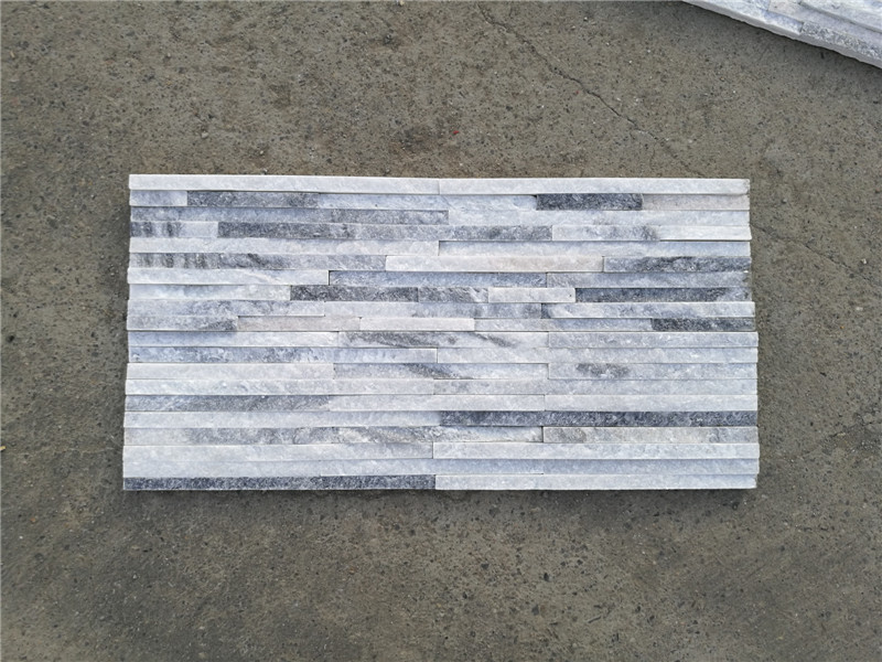 Multicolor quartzite wall cladding stone