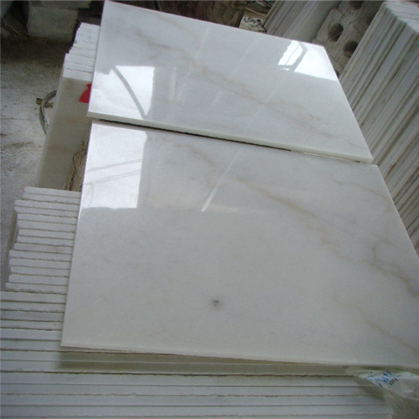 Environmetal friendly Bianco Crown Marble Tiles China Guangxi Original