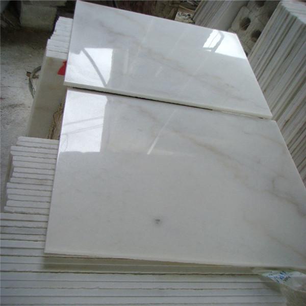 Environmetal friendly Bianco Crown Marble Tiles China Guangxi Original