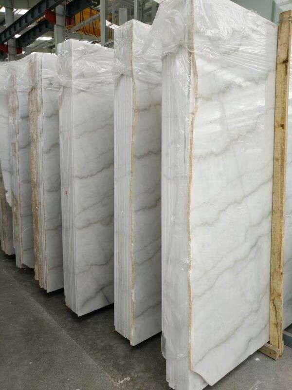 Guangxi White marble slab