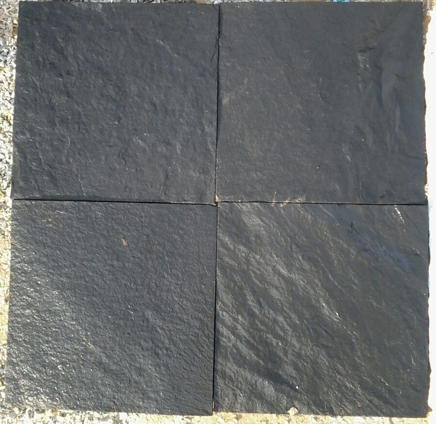 Himachal Black Slate Quartzite - Wet