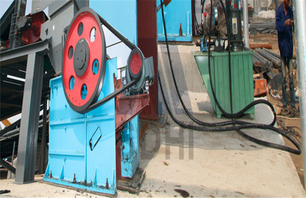 HPEF jaw crusher