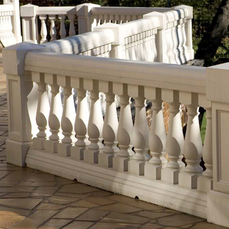 Fine Quality Stair Railing Marble Baluster Design