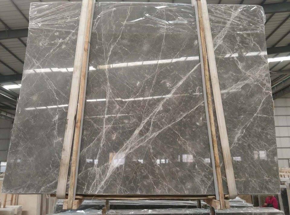 Hermas Grey Slabs Tiles Floors