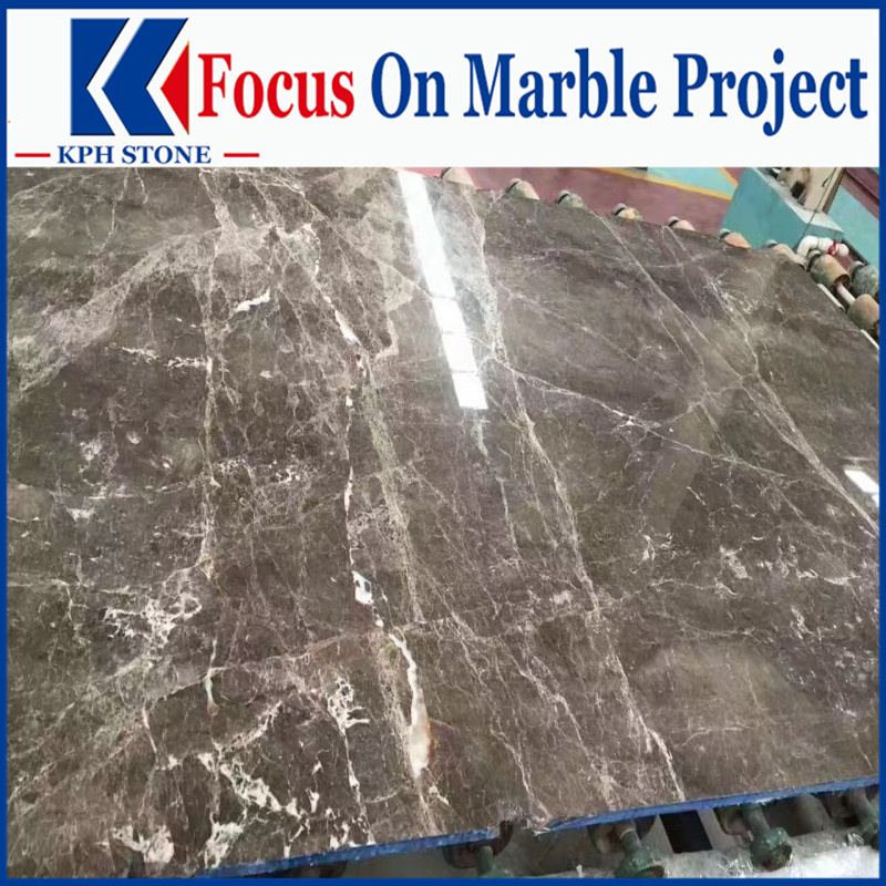 Hermes Gray Marble Slabs for Fairmont Monte Carlo