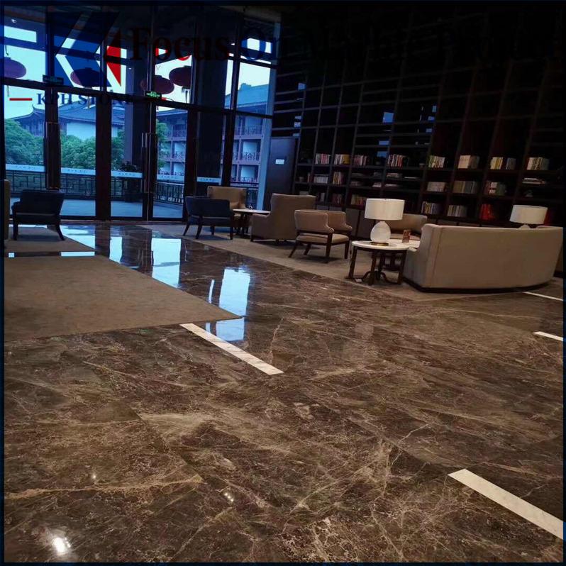 Hermes Grey Marble Tiles Decoration Hotel
