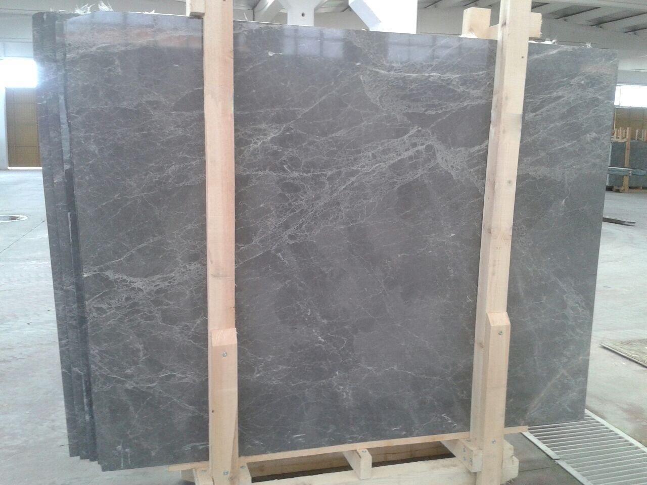 Hermes Grey Marble Slab