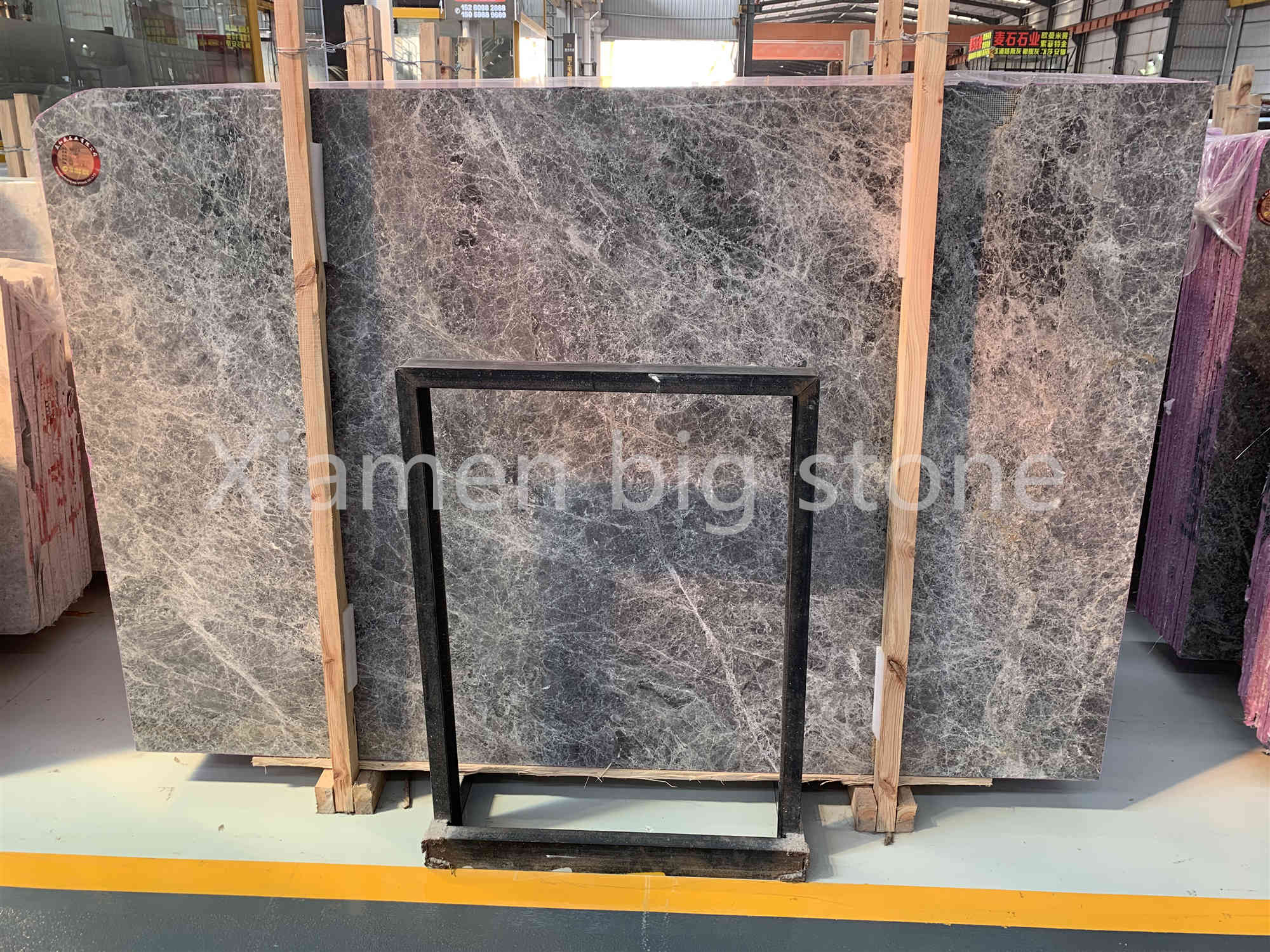 Hermes Ash Grey Marble Big Slab