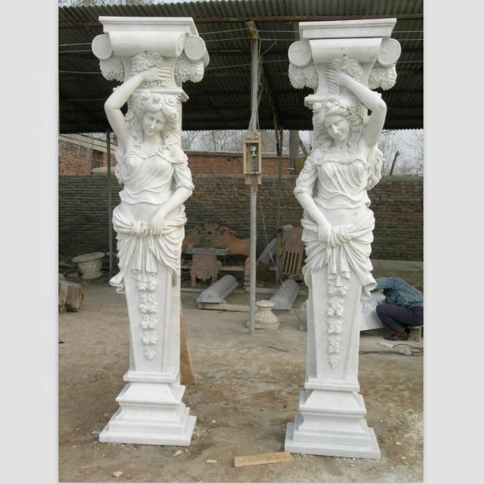 Stone Statues Roman Column Pillar customized