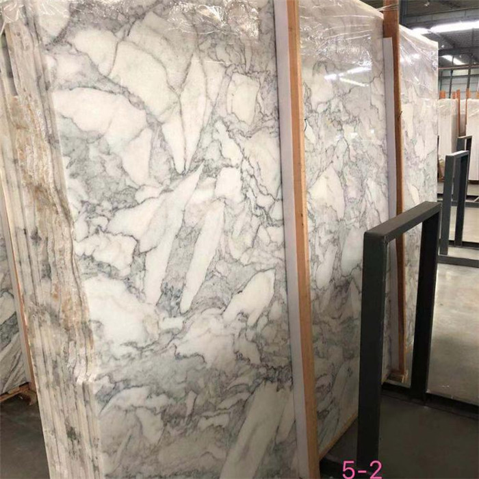 High Quality Italian White Mabrle Arabescato Marble Slab