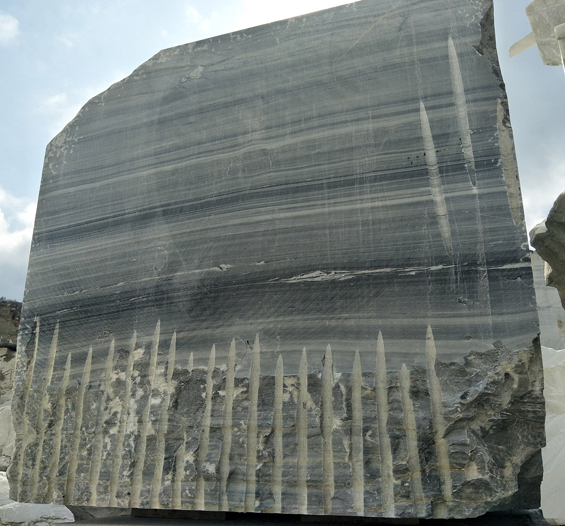 China black marble block