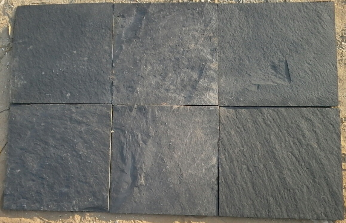 Himachal Black Slate Tiles