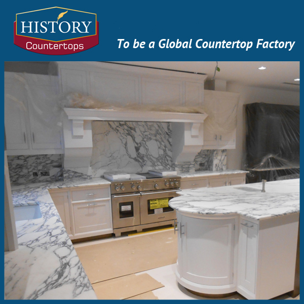 China Arabescato marble countertops