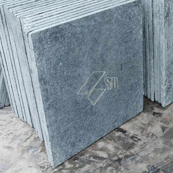 Honed Antic Blue Limestone 80x80x3cm