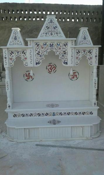 Marble Temples with Inlay Works