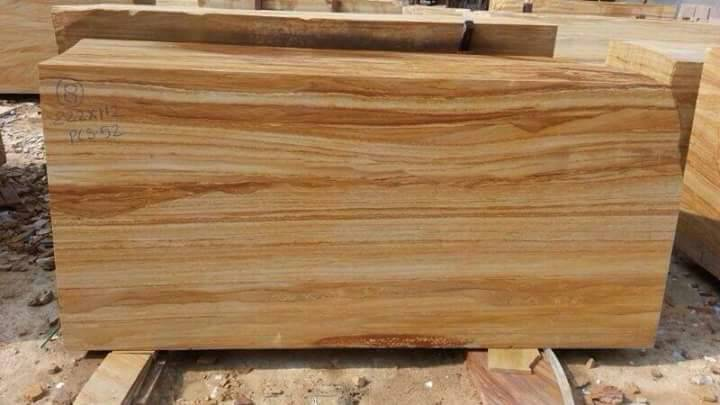 Teakwood Sandstone Natural Stone Blocks