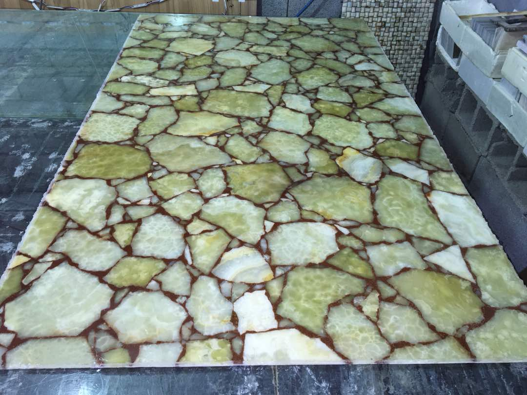green marble slab with 5mm thickness