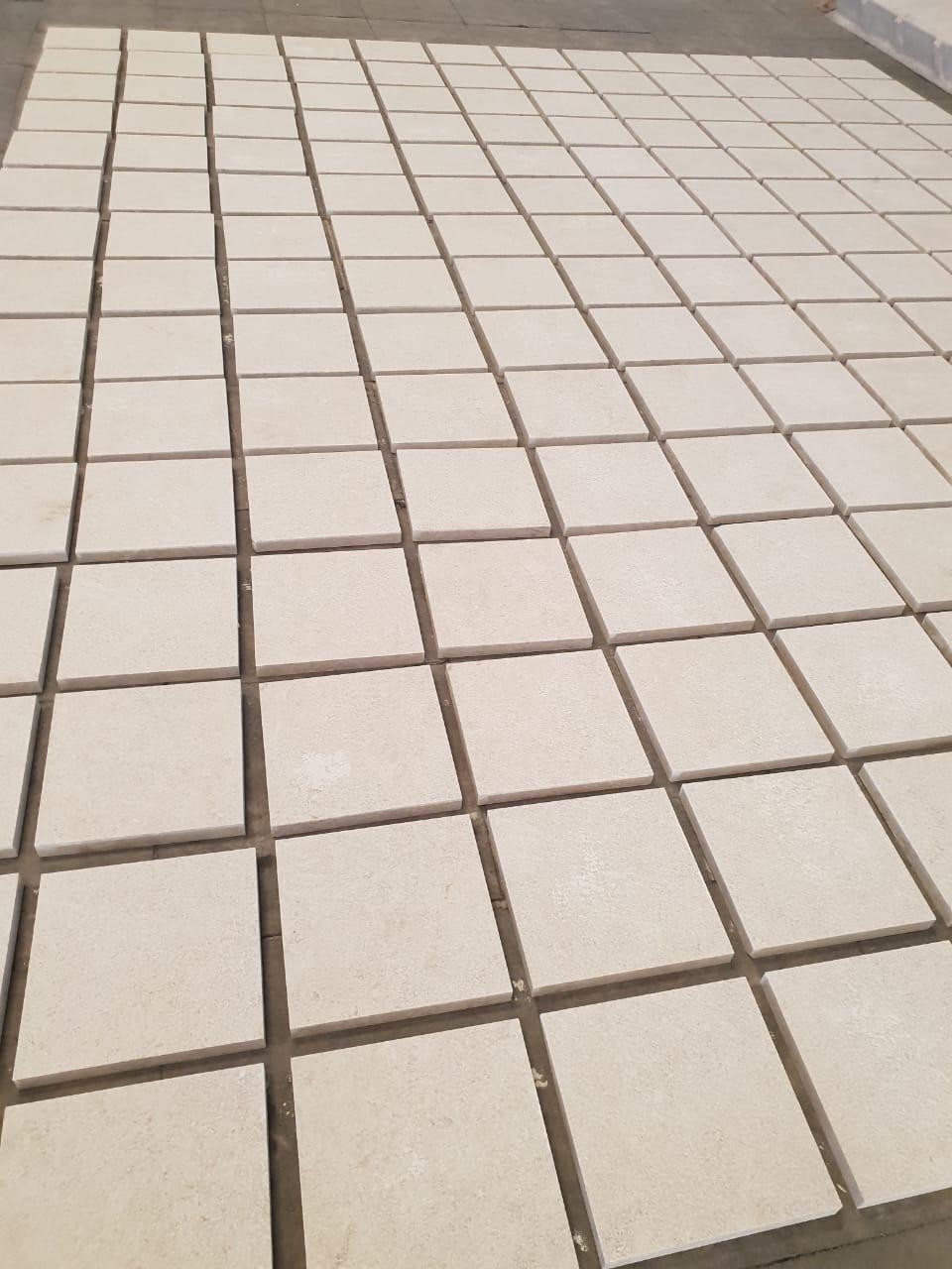 Bushhamer Marble Tiles