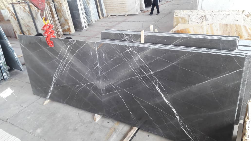 Pietra Grey Iran Polished Marble Slabs