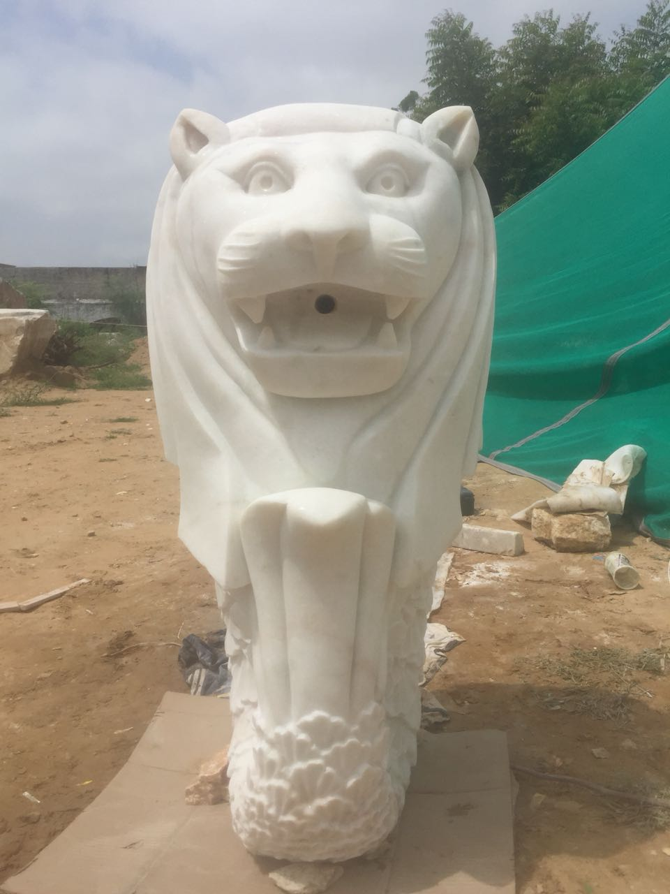 Animal Sculptures Marble Art Stone Carvings