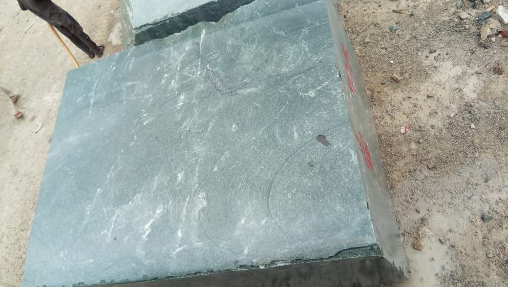 Green Marble Blocks