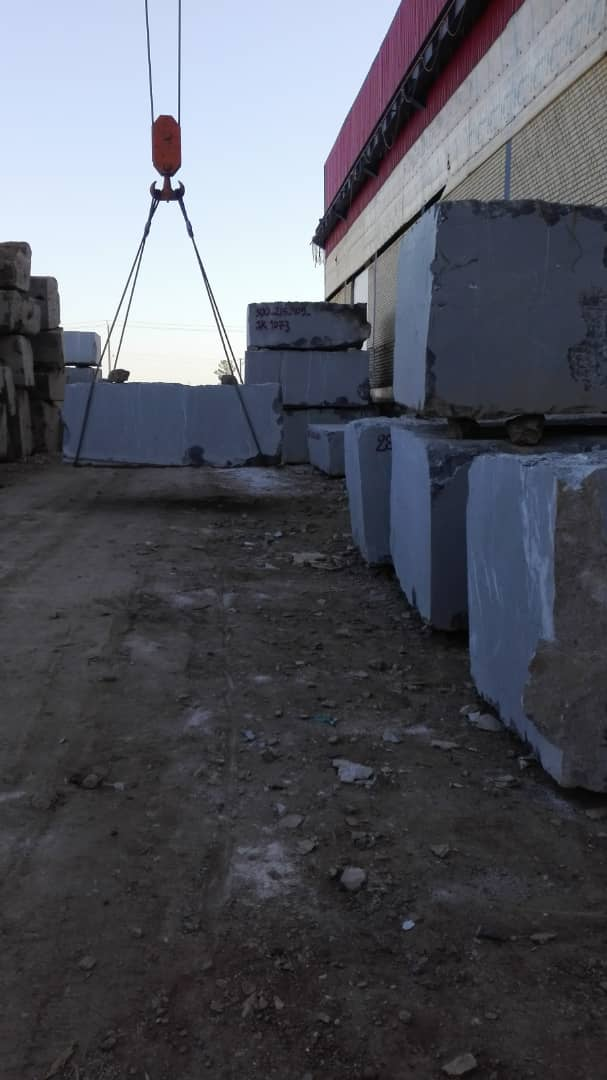 Pietra Grey Natural Marble Stone Blocks