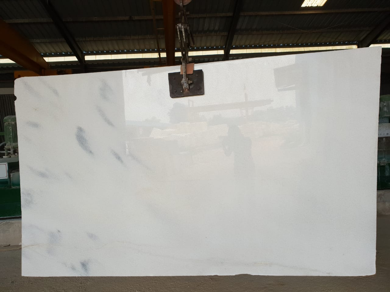 Vietnam White Slabs Polished Marble Slabs