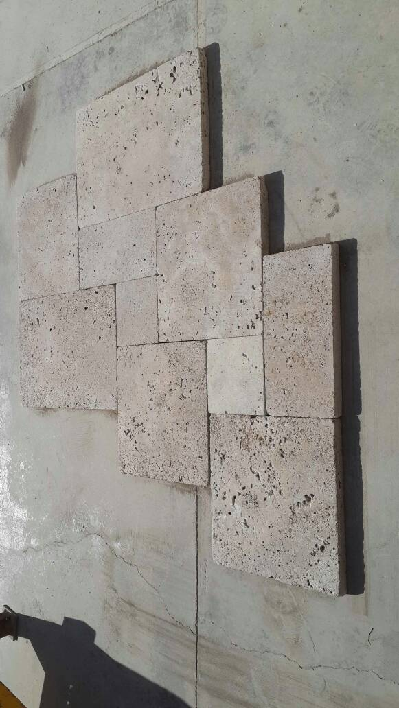 Tubled Travertine Paving Stones