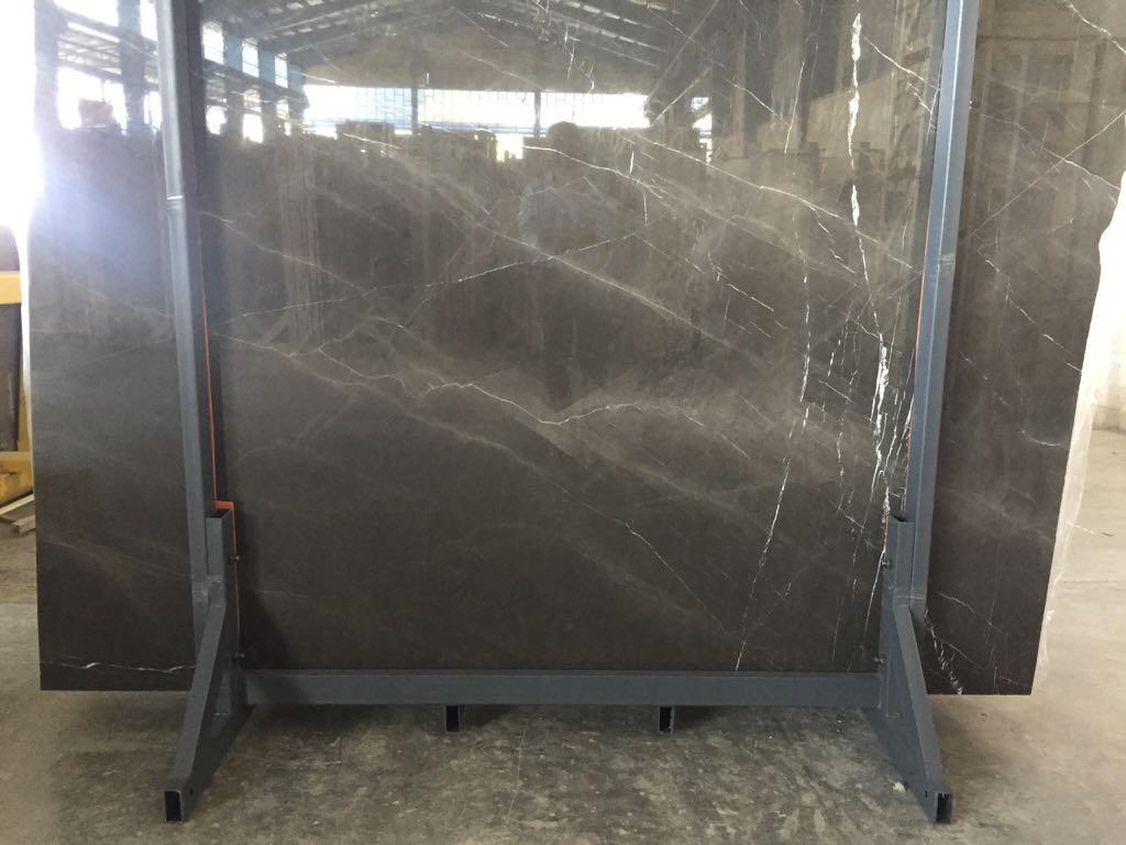 Pietra Grey Slab Polished Grey Marble Slabs