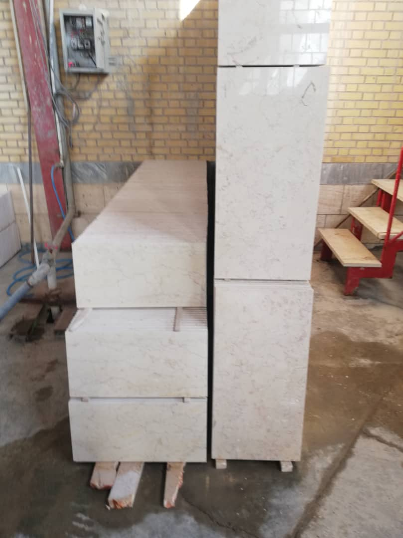 Light Beige Marble Tiles