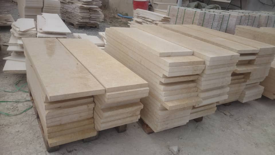 Beige Travertine from Turkey
