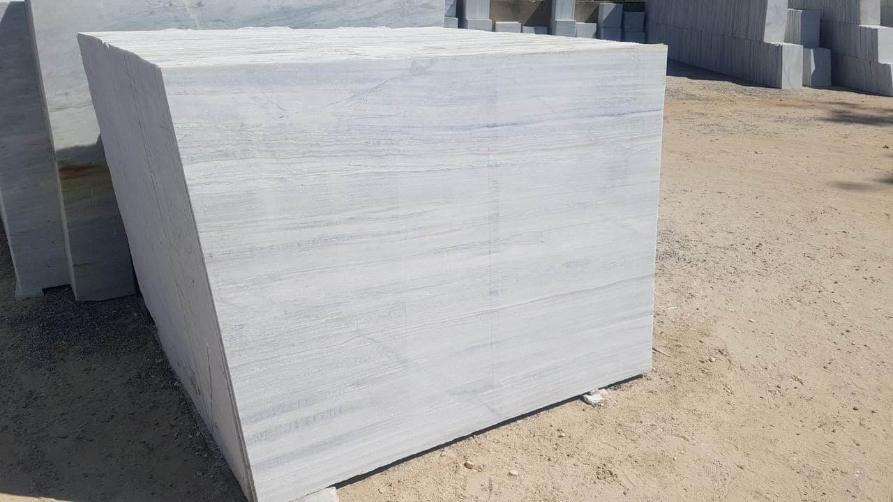 Aarna White Marble Slabs & Tiles