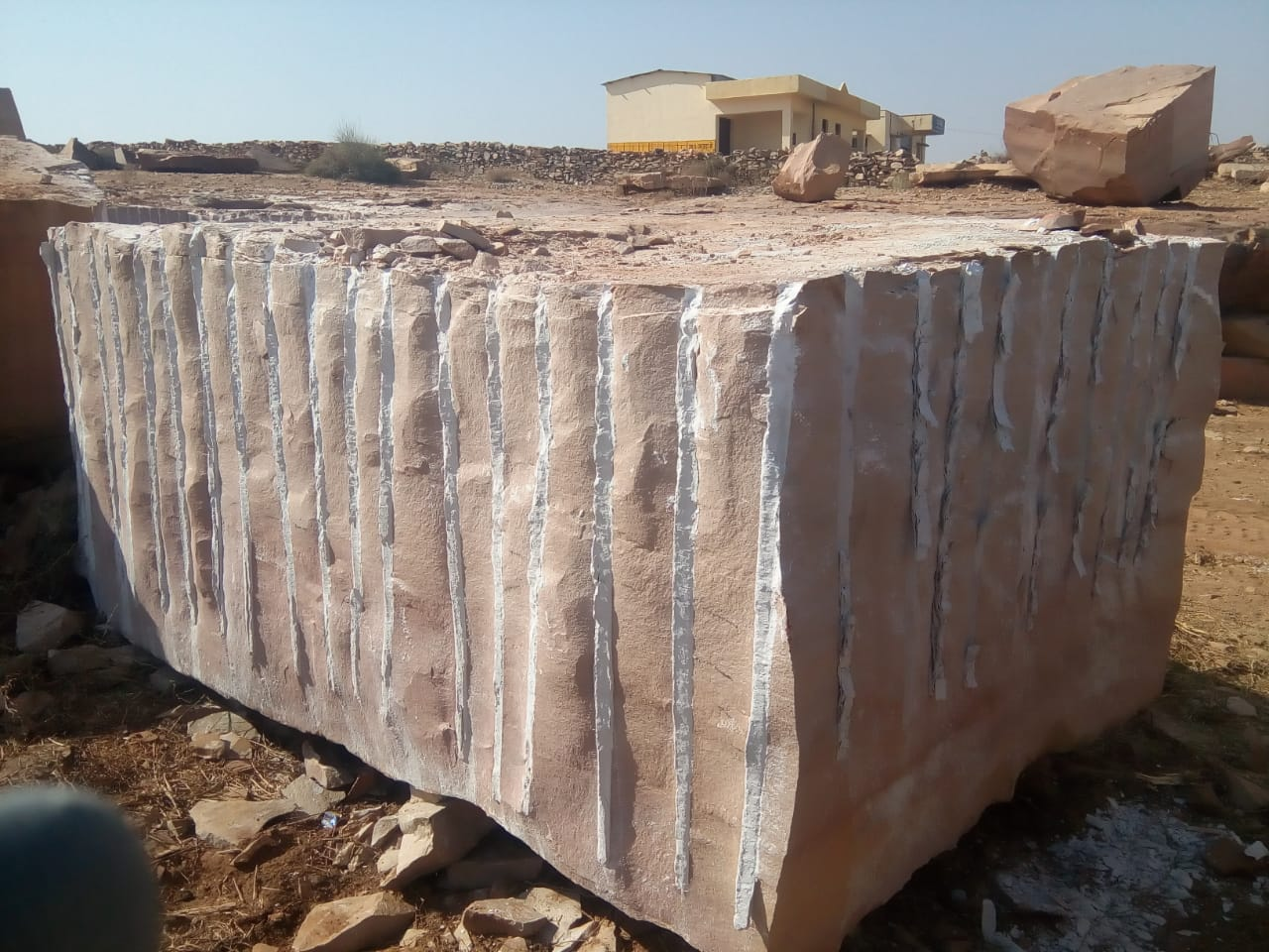 Camel Buff Sandstone Blocks