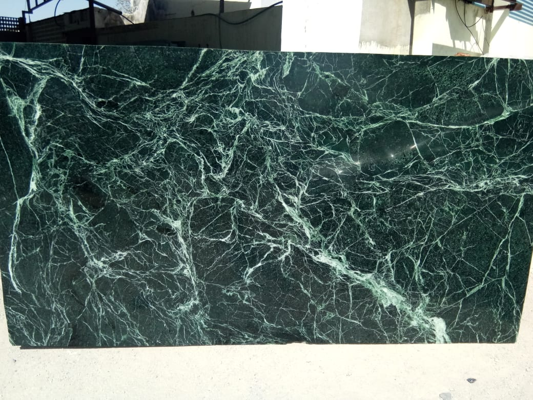 Emerald Green Marble Polish Slabs