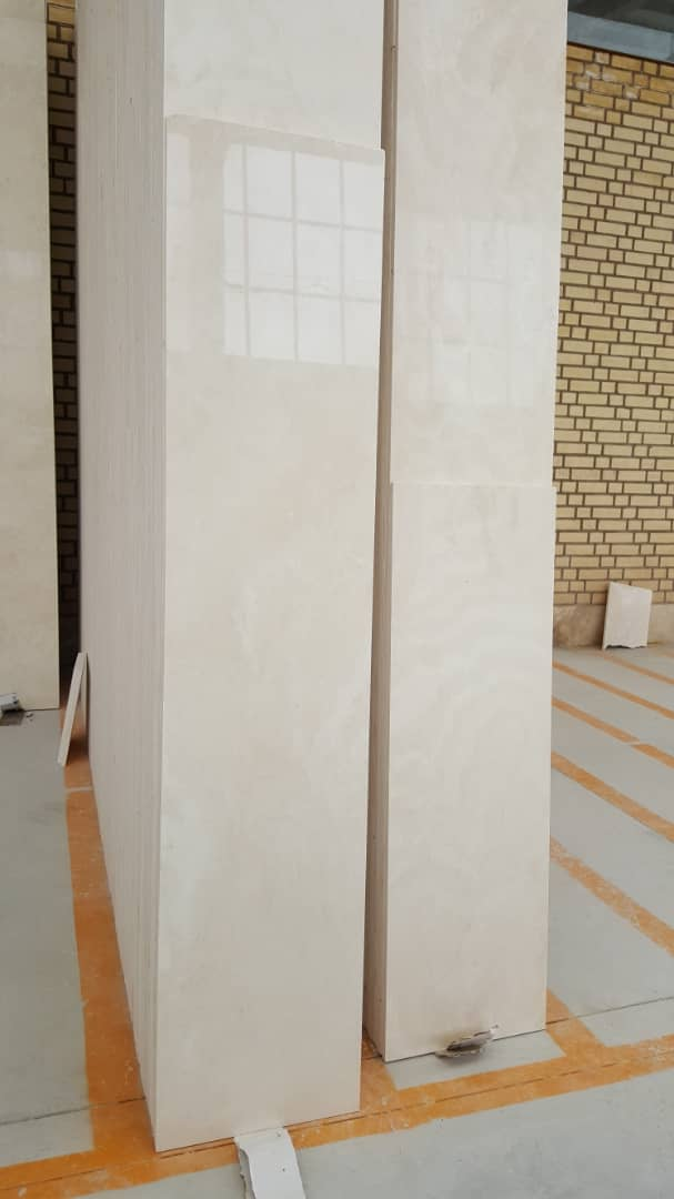 Iranian Polished White Limestone Tiles