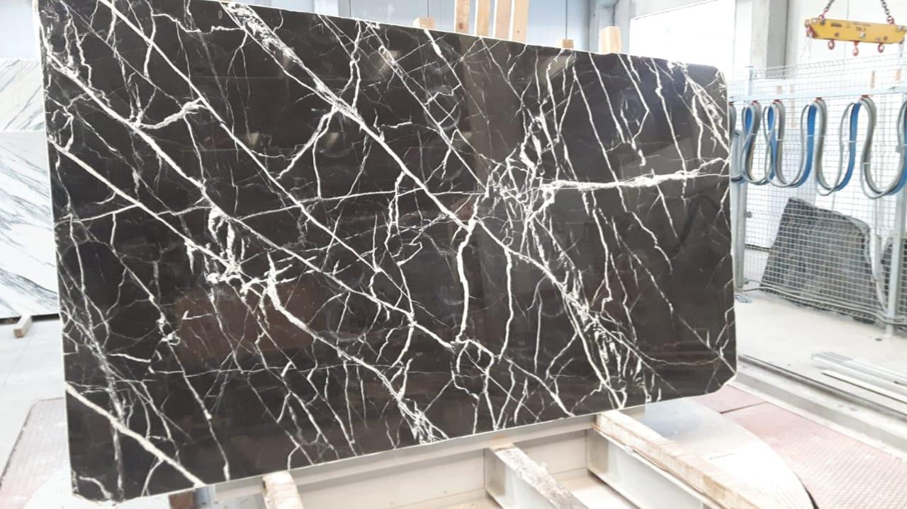 black calacata marble slabs