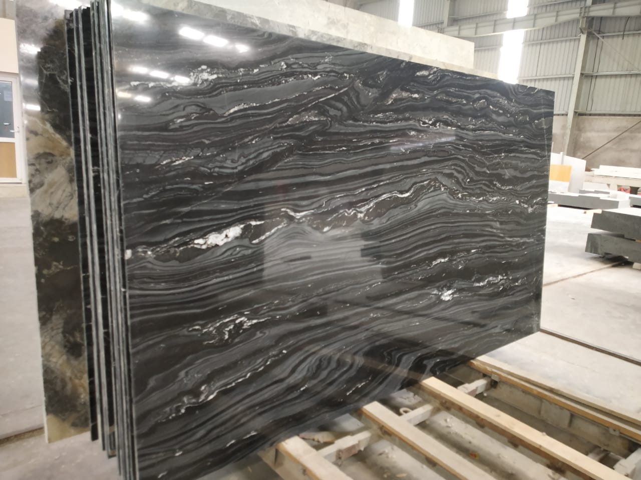 Black Fantasy Indian Marble