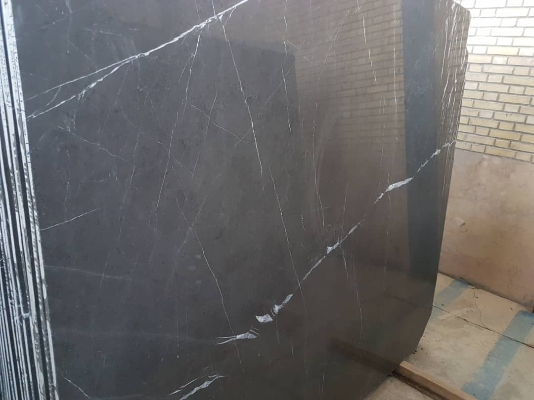 Polished Pietra Gray Marble Slabs