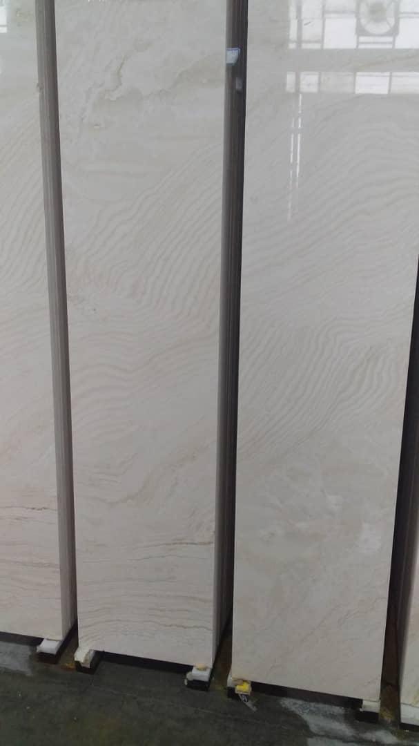 White Polished Travertine Tiles