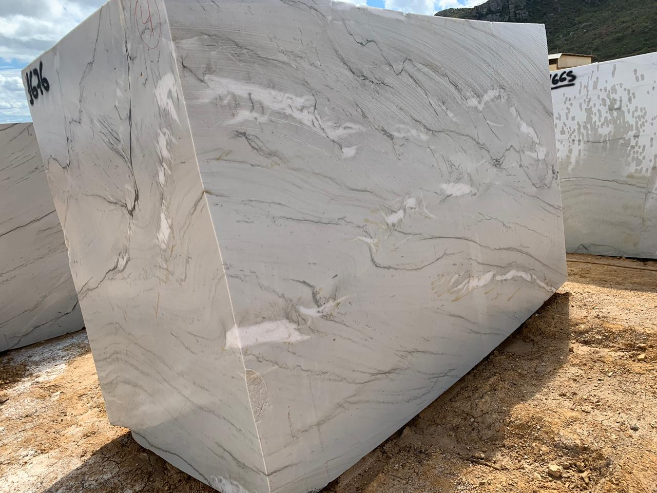 Brazilian White Natural Quartzite Blocks