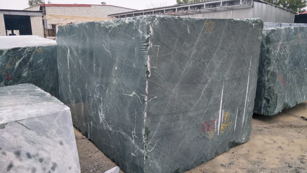 Indian Green Marble Blocks