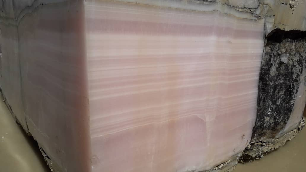 Pink Onyx Blocks Iran Onyx Stone Blocks
