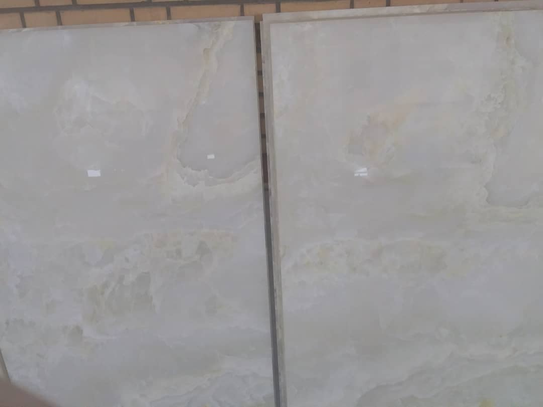 White Onyx Polished Tiles