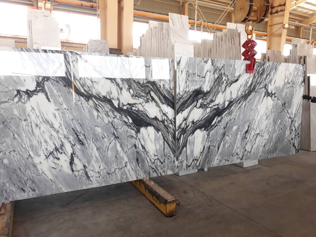 Libra White Marble Slabs Polished White Stone Slabs