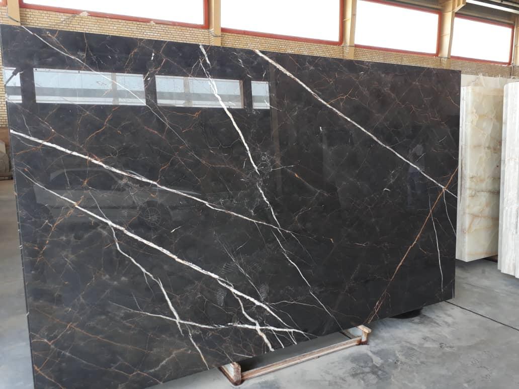 Iranian Neqro Marble Slabs