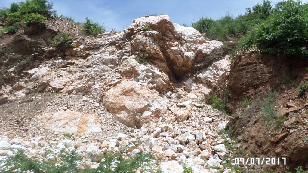 White Quartzite Quarry