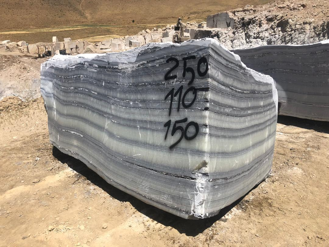Dream Gray Onyx Natural Stone Blocks
