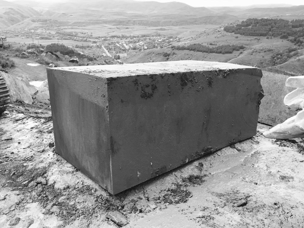 Grey Basalt Stone Blocks